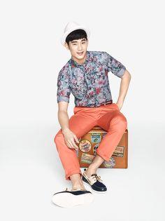 Kim Soo Hyun for ZIOZIA Summer 2014