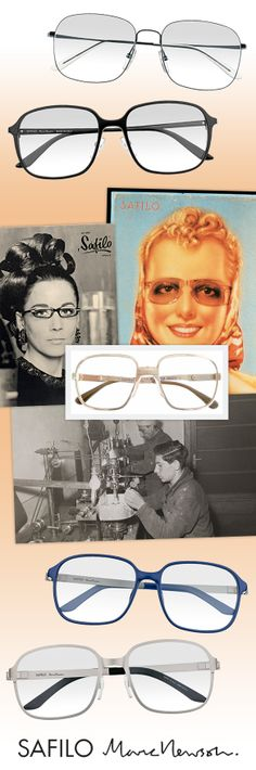 Safilo Revels in 80 Years with Throwback Specs: http://eyecessorizeblog.com/?p=5705