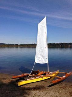 Sailing rig for kayaks