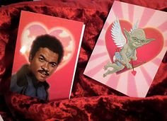 Show your Affection with a Star Wars Valentine's Day Card #geek trendhunter.com