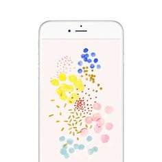Download this adorable pattern as your iPhone wallpaper!