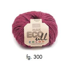 M&K Eco-Ull Color organic wool & Merino yarn, wine red - I Wool Knit
