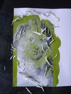 The Technique Zone: Acrylic Paint Transfer http://techniquezone.blogspot.it/2008/08/acrylic-paint-transfer.html