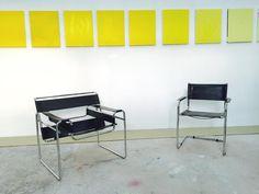 Marcel Breuer & Mart Stam in study Wassily Chair/ modelB3 1925 - 1926 S 34 model Chair - Mart Stam 1927 #Wassily #modelB3 #marcelbreuer #martstam #wassilychair #bauhaus #dessau #bauhauschair #bauhausfourniture #modernism #industrialdesign #vintageaddict by rodfloreslugo