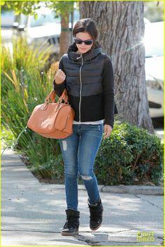 #Rachel Bilson #Jean #Winter