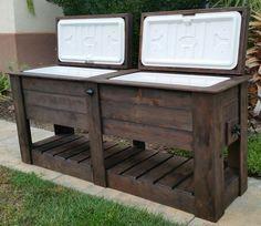 Pallet Rustic Custom Wood Coolers