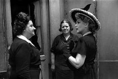 Henri Cartier-Bresson  -  Paris. 1945. Canadian actress, Mary Pickford.
