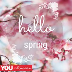 #YOUinspiration #thoughtfortheday #inspiration Hello Spring, You And I, Qoutes, Thoughts, Space, Inspiration, Beautiful, Quotations, Floor Space