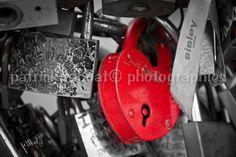 Paris Locks Photo Fine Art Photography by PatrickRabbatPhotos