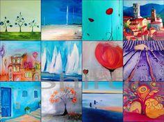 Kunstkalender 2015 von Art Du Soleil auf DaWanda.com