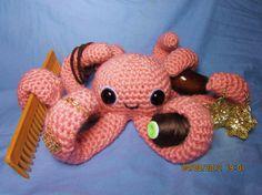Cute Crochet Amigurumi Octopus by bubblesandbubblegum on Etsy, $25.00