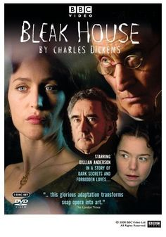 Bleak House - BBC Good mystery, good characters, good villains, not as bleak as I was afraid it would be....  And I did cry at the end.