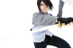 Sasuke Cosplay, Bts
