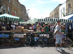 Broadway Market in London's east end has hosted a weekly food market since the 1890s.