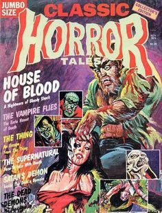 Cover for Horror Tales (Eerie Publications, 1969 series) #v7#4