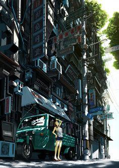 The Art Of Animation, kurono #anime #illustration
