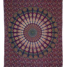 Multicolor Bird Wings Psychedelic Bohemian Hippie Tapestry Bedspread #Traditional Bohemian Room Decor, Bird Wings, Hippie Bohemian, Bedspread, Psychedelic, Tapestry, Traditional, Ebay, Home Decor