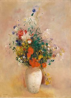 Vase of Flowers, Odilon Redon. I cried when I saw at Legion of Honor.