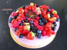 Entremet fruits rouges