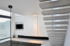 Beste afbeeldingen van zwevende trappen staircases stairs