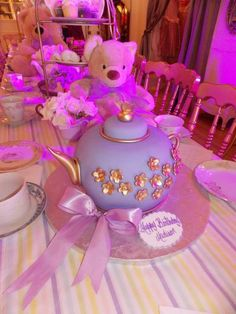 Cute teddy bear tea party! See more party ideas at CatchMyParty.com!