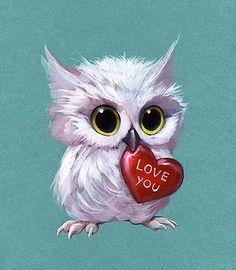 2019 New Arrival Cartoon Animals Muur Diamond Painting / Diamant . - 2019 New Arrival Cartoon Animals Muur Diamond Painting Embroidery Owl Set - Tatoo Bird, Owl Artwork, Owl Wallpaper, Owl Cartoon, Owl Pictures, Owl Pics, Beautiful Owl, Owl Crafts, Ouvrages D'art