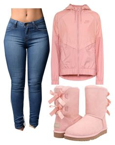 """""""Untitled #156"""" by bigdaddycam43 ❤ liked on Polyvore featuring NIKE and UGG Australia"""