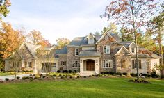House plan number 67114GL - a beautiful 4 bedroom, 4 bathroom home.