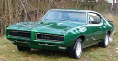 '69 GTO but in red. Yum.