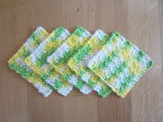 Scrubbies Facial Pads Make-up Removers All Cotton Set by TooCozy