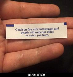 Catch On Fire With Enthusiasm#funny #lol #lolzonline