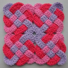 Celtic Knot Squares