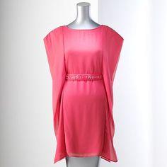 Simply Vera Vera Wang Shift Chiffon Dress