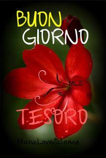 buongiorno tesoro Italian Memes, Love Moon, Italian Life, Good Morning Good Night, Emoticon, Decoupage, Blog, Italy, Google