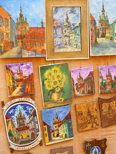 Sighisoara, Transylvania jigsaw puzzle in Puzzle of the Day puzzles on TheJigsawPuzzles.com