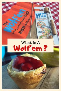 What is a Wolf'em? It is a campfire treat that is made from refrigerated biscuit dough and filled with yummy treats that you create. New Years Eve Snacks, Cool Camping Gadgets, Gifts For Campers, Happy Campers, Camping Snacks, Camping Recipes, Yummy Treats, Yummy Food, Outdoor Fun For Kids