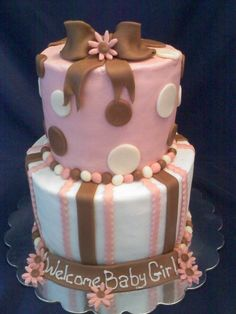 Baby bottom cake — Baby Shower
