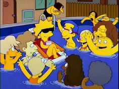 The Simpsons│ Los Simpson - - - - - - Lisa Simpson, The Simpsons, Simpsons Funny, Simpsons Quotes, Simpsons Springfield, Los Simsons, Cinema Tv, Photo Awards, Funny Moments