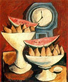 Bodegón del pintor mexicano Rufino Tamayo.
