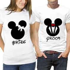 Amazing Tips For Having An Amazing Wedding Disney Couple Shirts, Disney Couples, Brides Room, Disney Honeymoon, Wedding Honeymoons, Happy Couples, Anniversary, T Shirts For Women, Disney Stuff