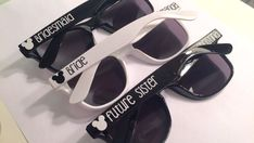 8f7ded7f239 Personalized Disney Wedding Sunglasses  Bachelorette Party