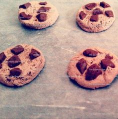 Polymer Clay Chocolate Chip Cookies