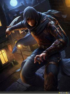 Dd Rogue Fantasy Art