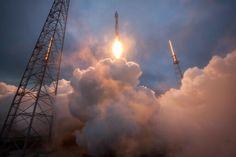 #AtlasV w/ #Cygnus Spacecraft.