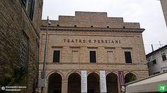 Teatro Persiani #Recanati #Marche #Italia #Viaggio #Viaggiare #AlwaysOnTheRoad