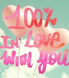 Oliver Gal Love You One Hundred Canvas Art