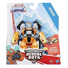 Official Brushfire Rescue Bots Images and Details on New Playskool Heroes Transformers Figure
