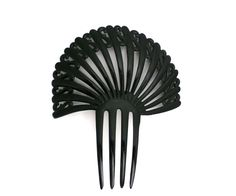 Antique Womens Hair Comb Black Celluloid s Design Pre Victorian | eBay