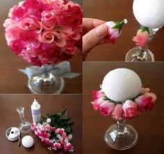 Savvy wedding center pieces