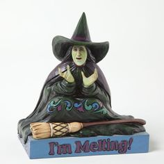 Melting witch, 4037529, Heartwood Creek by Jim Shore